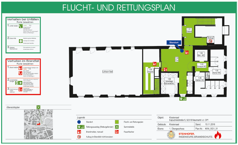 Barrierefreier Brandschutz Evakuierungskonzepte Fur Alle Bfb Barrierefrei Bauen