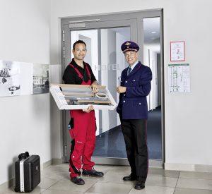 Sicherheits-Türschließer für Feuerschutztüren