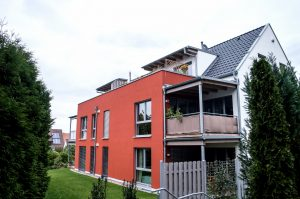 Mehrfamilien-Holzhausneubau