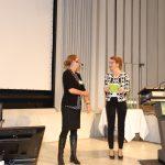 Karen Schramke und Tanja Buß auf der Bühne
