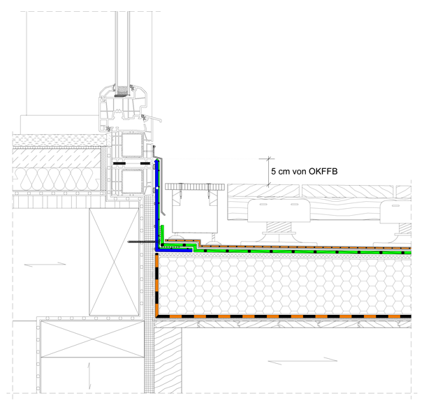 Terrasse Fenster Unten Abdichten: Barrierefrei Planen & Bauen