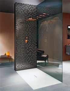 barrierefreie Produkte: Dusche